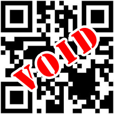 QR code void